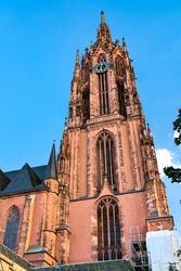 Cathedral of Saint Bartholomew in Frankfurt am Main, Germany