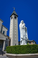 Cathedral of Saint Clare of Assisi in Vaughan Woodbridge area in Canada.