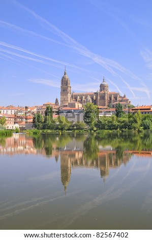 Cathedral of Salamanca, Spain.