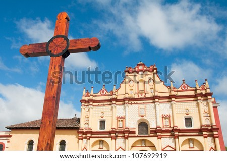 Cathedral of San Cristobal de las Casas, Chiapas (Mexico)