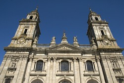 Cathedral of San Froil?n, Lugo. Galicia, Spain