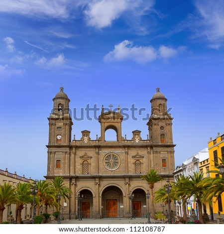 Cathedral of Santa Ana in Las Palmas de Gran Canaria