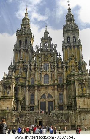 Cathedral of Santiago de Compostela.Galicia.Spain