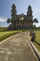 cathedral of santo domingo managua nicaragua central america
