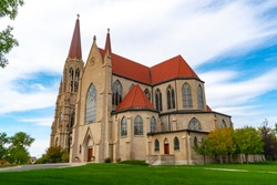 Cathedral of St Helena in Helena Montana