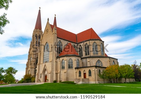 Cathedral of St Helena in Helena Montana #1190529184