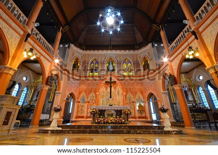 Cathedral of The Immaculate Conception - stock photo
