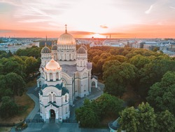 Cathedral of the Nativity of Christ in Riga, Latvia