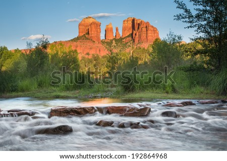 Cathedral Rock at Oat Creek in Sedona Arizona