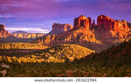 cathedral rock in sedona ...