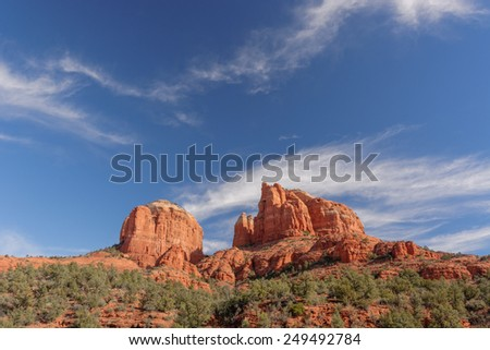 Cathedral Rock in the Coconino National Forest near Sedona, AZ, USA
