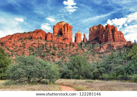 Cathedral Rock, Sedona is one of the most popular spots in Arizona