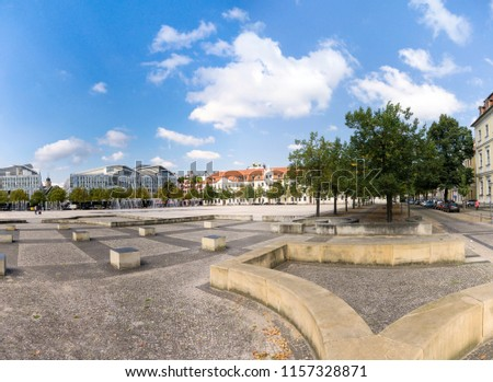 Cathedral square in Magdeburg, Germany #1157328871