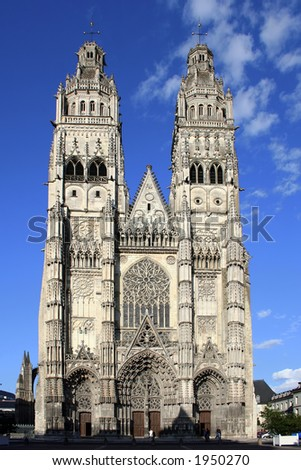 Cathedral St-Gatien, Tours, France