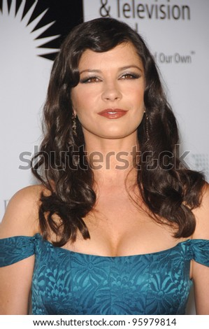 "Catherine Zeta-Jones at the second annual ""A Fine Romance"" gala to benefit the Motion Picture & TV Fund, in Los Angeles. November 18, 2006  Los Angeles, CA Picture: Paul Smith / Featureflash - stock photo"