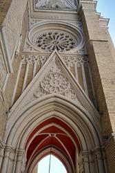 Catholic Church Novi Sad Serbia, April 2020