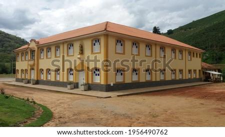 Catholic Seminary. City of Varre-Sai, Brazil Stock fotó ©
