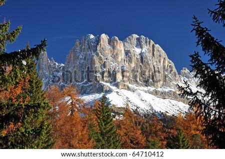 Catinaccio - Dolomities - Italy - stock photo