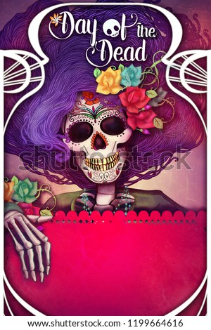 Catrina day of the dead poster