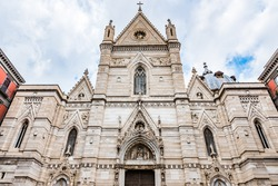 Cattedrale di San Gennaro (Naples Cathedral) in Naples, Italy.