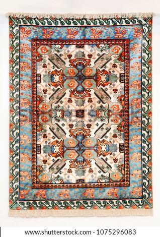 Caucasian carpet. Azerbaijan #1075296083