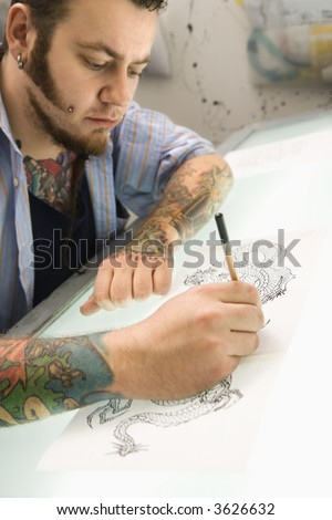 Tattoo Gallery Male Tattoos