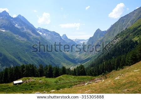Caucasus Mountains #315305888