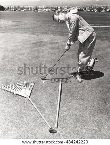 caught between a rake and a...