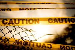 caution, zombie land