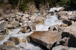 Cavallers Reservoir (Boí Valley, Catalonia, Spain, Pyrenees) ESP: Embalse de Cavallers (Valle de Boí, Cataluña, España, Pirineos)