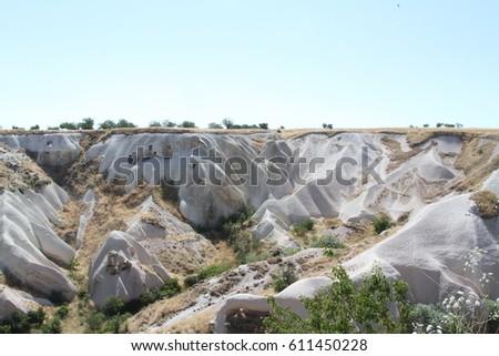 cave Cappadocia in Central Anatolia, Turkey #611450228