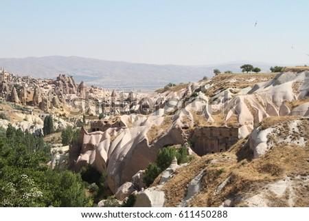 cave Cappadocia in Central Anatolia, Turkey #611450288