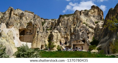 Cave church in Cappadocia, Turkey #1370780435