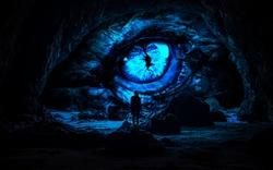Cave Manupulation with dragon eye