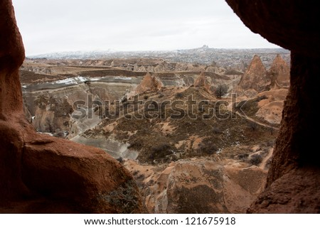 Caves of historical area of Cappadocia