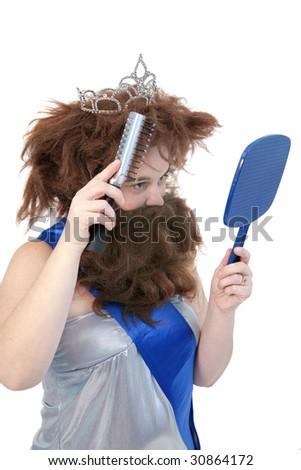 cavewoman beauty pageant contestant