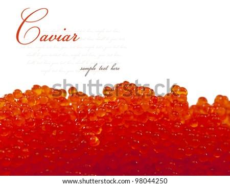 caviar background