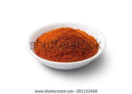 Shutterstock Cayenne pepper - Red chilli powder isolated on white background