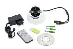 CCTV camera mounting kit and manual
