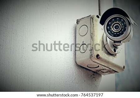 cctv ( closed circuit television ) so popular technology to install all building in city  and used to protect the property #764537197