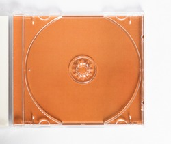 CD (compact disc) case for music and data recording media