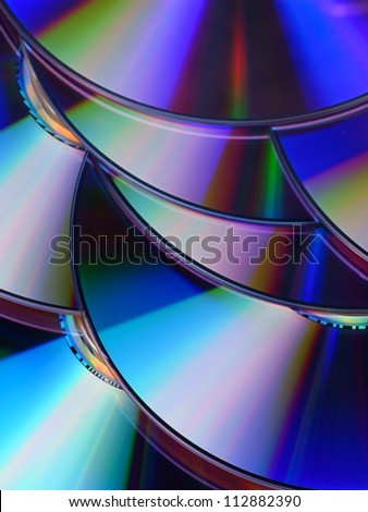 CD / DVD disc texture for background
