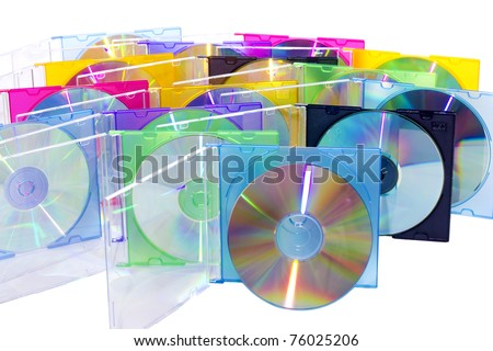 CD in the disclosed colored boxes set vertically