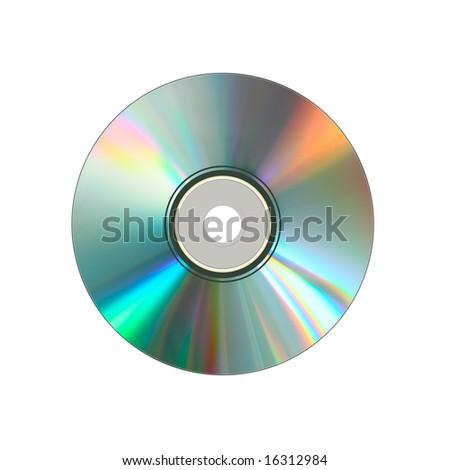 CD on White background