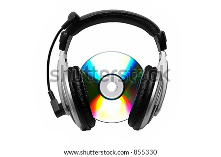 Cd-rom and headphone.