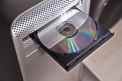 CD-ROM / DVD drive of a computer