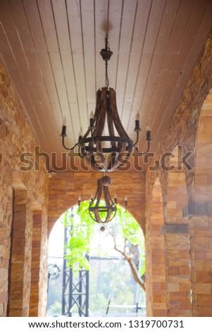 Ceiling lamp, ceiling hanging lamp #1319700731