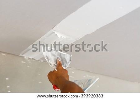 Ceiling repair for home renovate