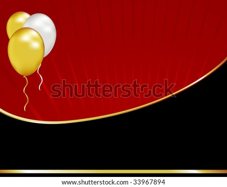 Celebrate a formal event like a graduation or anniversary with this simple black tie background. - stock photo