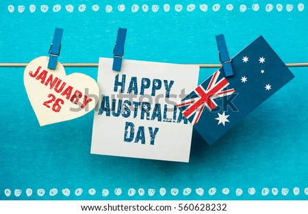 Free photos australia day avopix celebrate australia day holiday on january 26 with a happy australia day message greeting written m4hsunfo